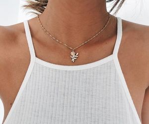 necklace and rose image