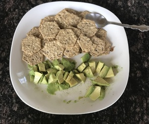 crackers, delicious, and granite image
