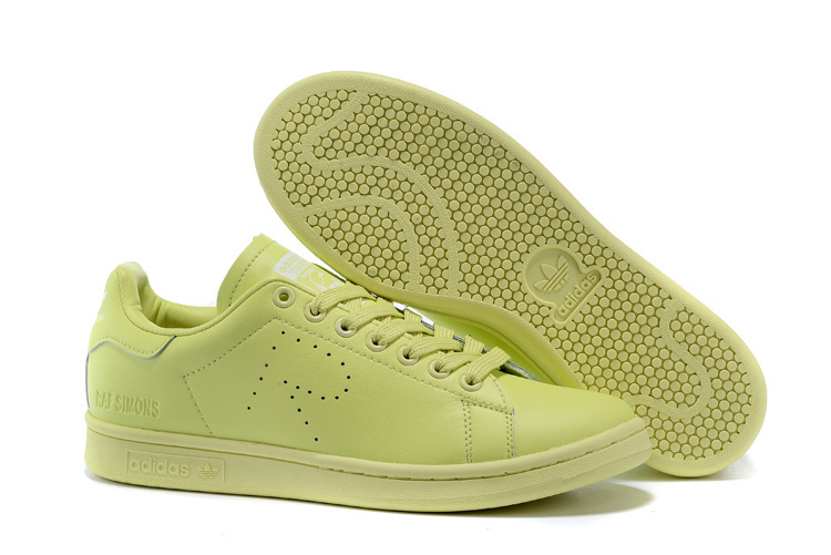 how to buy half off designer fashion Raf Simons X Adidas Originals Stan Smith All Green Trainers