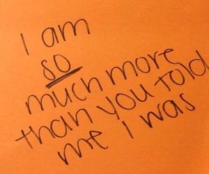 quotes, orange, and words image