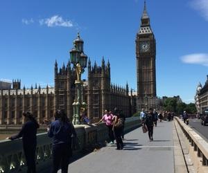 Big Ben, bridge, and city image