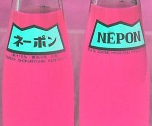 pink, drink, and neon image
