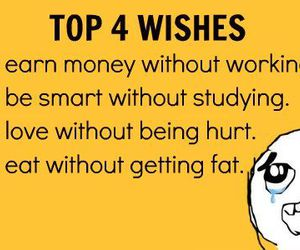 wish, quote, and funny image
