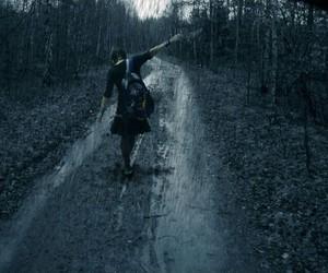 alone and rain image