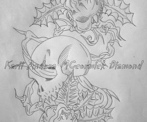 draws and tattoo image