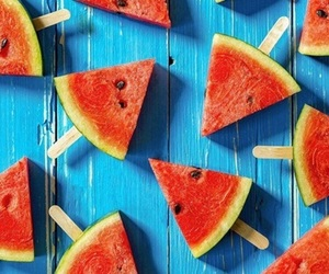 summer, watermelons, and yum~ image