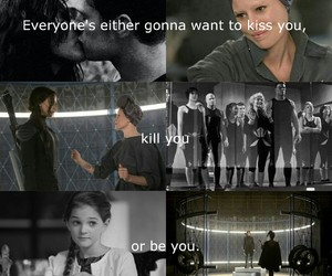 quotes, team, and hunger games image