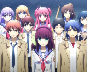 angel beats, anime, and yui image