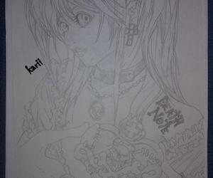 misa amane and draw.death note image