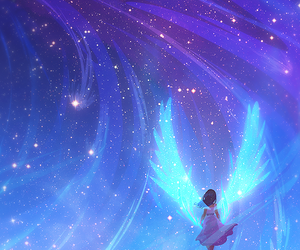 angel, anime, and wallpaper image