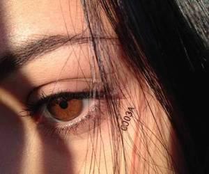 aesthetic, brown eyes, and eyes image