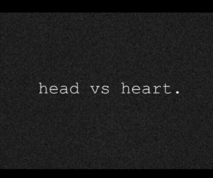 love, heart, and head image