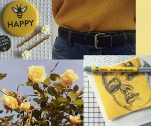 aesthetic, amarillo, and header image