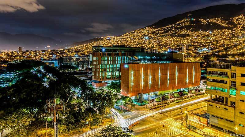city, colombia, and hometown image