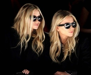 fashion, twins, and olsen image