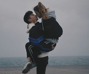 couple, cute, and relationship goals image