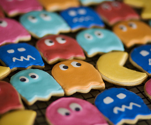 pacman, Cookies, and food image