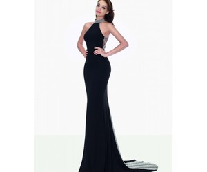 dresses, halter, and long image