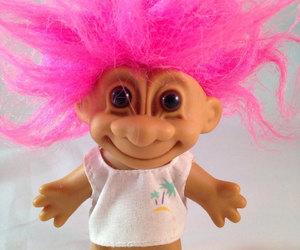 etsy, trolls, and vintage trolls image
