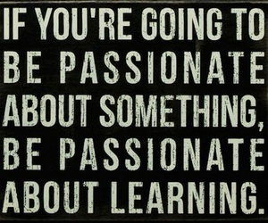 learning and passion image