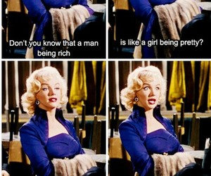 Marilyn Monroe, rich, and quotes image