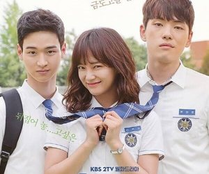 kdrama, Korean Drama, and school 2017 image