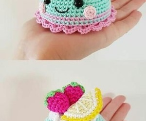 amigurumi, crochet, and love image