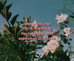 aesthetic, flowers, and heartbreak image