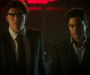 handsome, suits, and tv series image
