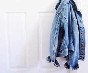 fashion, jacket, and jeans image