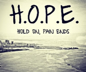 end, love, and hope image