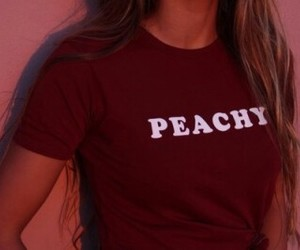 girl, money, and peachy image