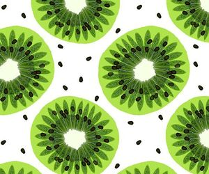 wallpaper, kiwi, and fruit image
