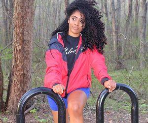 beauty, black girl, and magic image