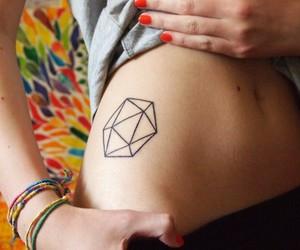 platonic, tattoo, and water image