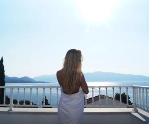 beach, body, and Greece image