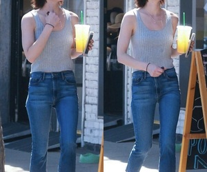 beautiful, outfit, and jeans image