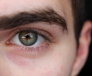 eyes, boy, and green image