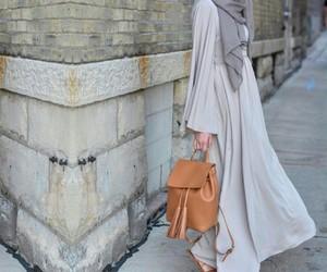 casual, hijab, and muslim image