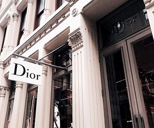dior, new york, and shopping image