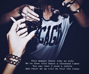 all time low, blur, and Lyrics image