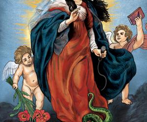 Amy Winehouse and holy image