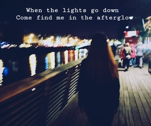 afterglow, all time low, and lights image
