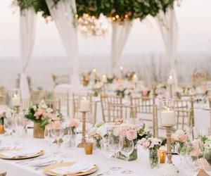 wedding, flowers, and beautiful image