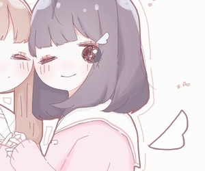 女の子, かわいい, and セーラー服 image