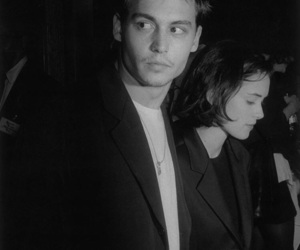 johnny depp, winona ryder, and couple image