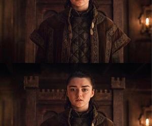 stark, jon snow, and sansa stark image