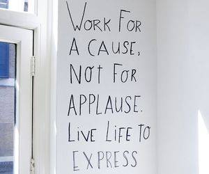 quote and work image