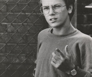 river phoenix, boy, and glasses image
