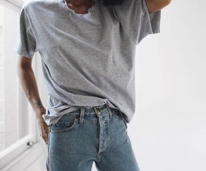 jeans, 😍, and style image